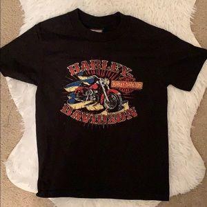 NWOT Boys Harley Davidson t shirt